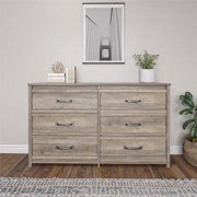 Better Homes & Gardens Rustic Ranch 6 Drawer Dresser, Multiple Colors
