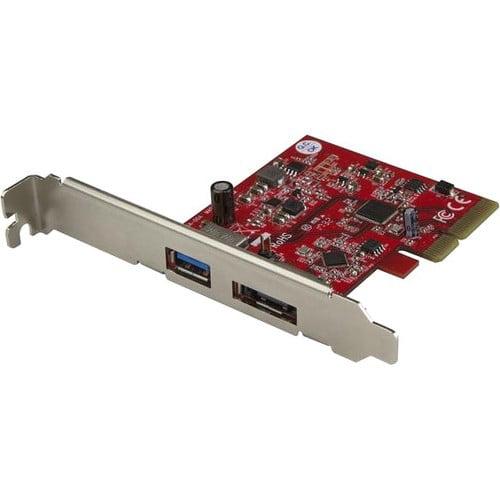 StarTech PEXUSB311A1E 2-Port USB 3.1 (10Gbps) and eSATA PCIe Card