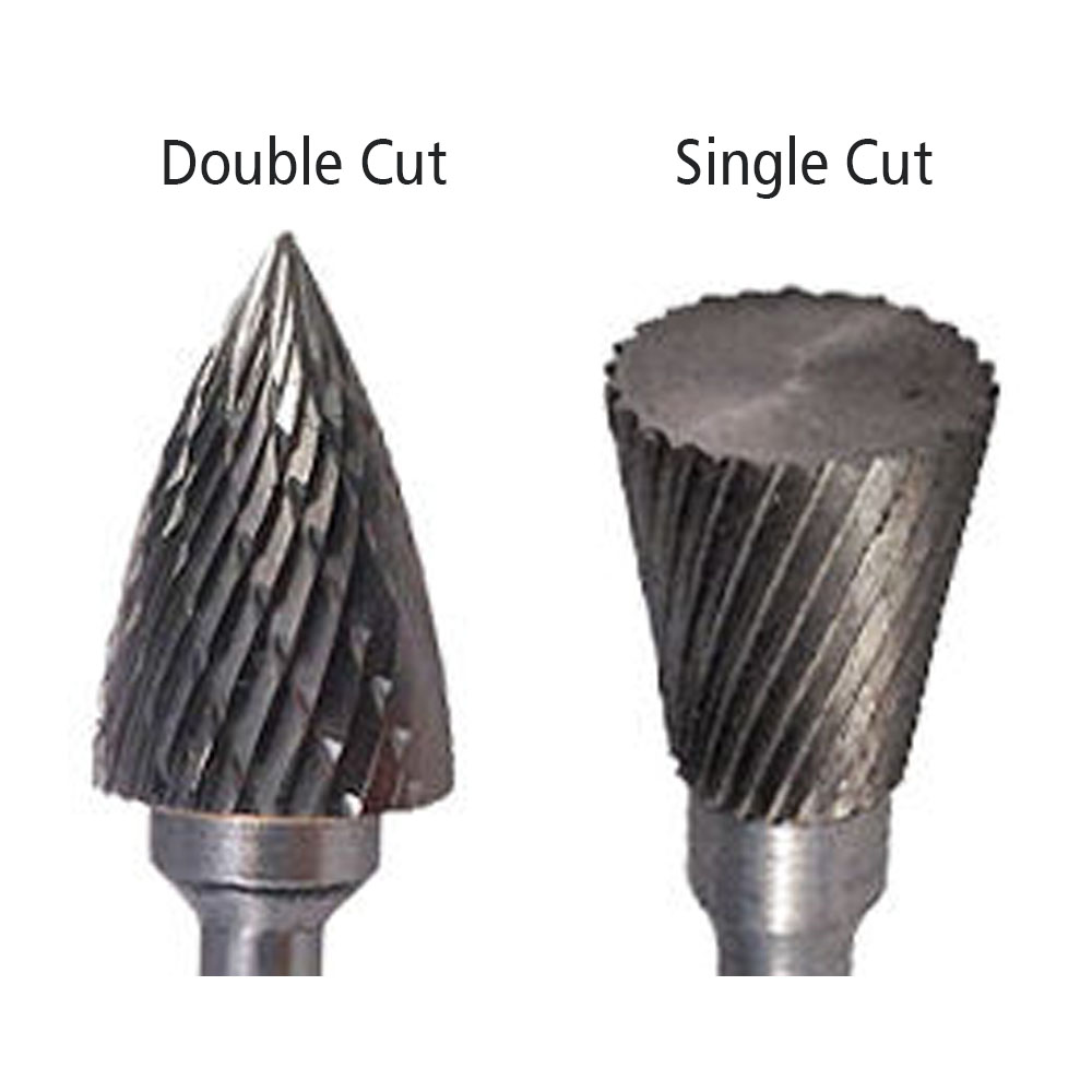 SD-9 Double Cut Carbide Bur Die Grinder Bit 1 on 1//4 Shank