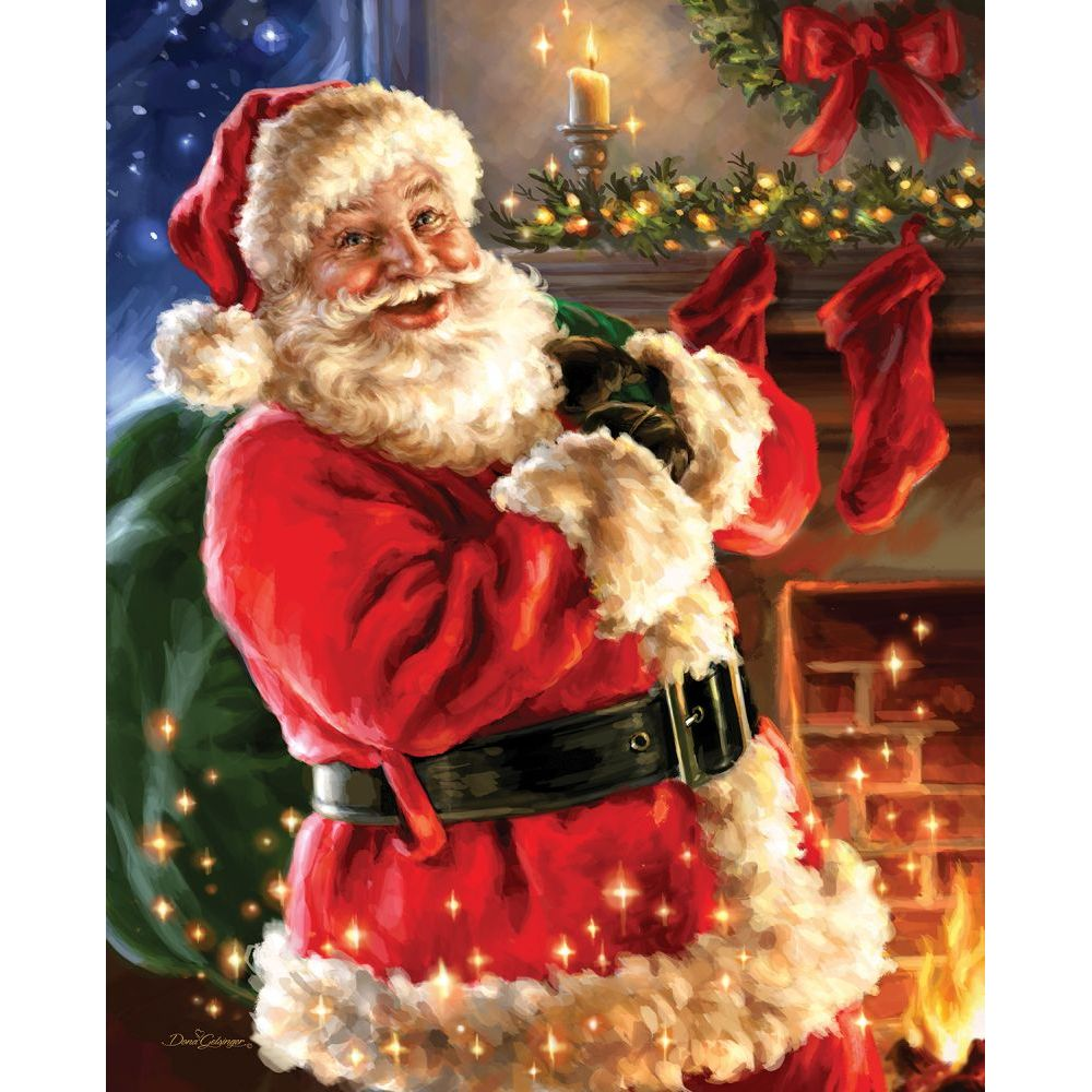 Night Before Christmas CC Exc 1000 Piece Puzzle,  1,000 Piece Puzzles by Allied Products