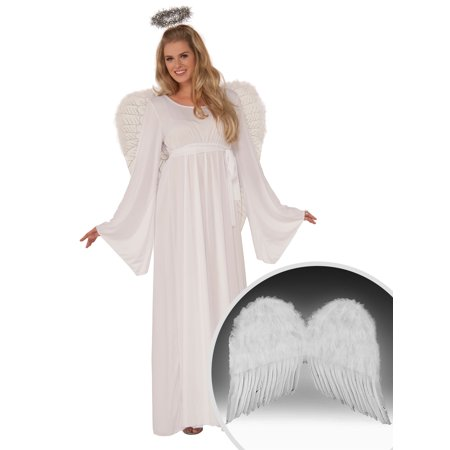Womens Angel Costume and White 22