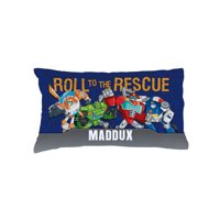 Personalized transformers rescue bots kids pillowcase