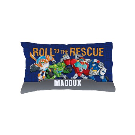 Personalized Transformers Rescue Bots Kids Pillowcase
