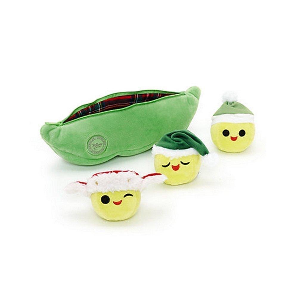 Official Disney Toy Story Christmas Peas In A Pod Soft Plush Toy by