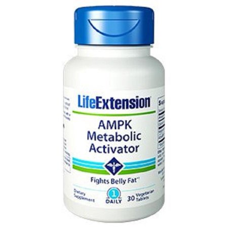 AMPK Metaboilc Activator Life Extension 30 Vegetarian Tablet