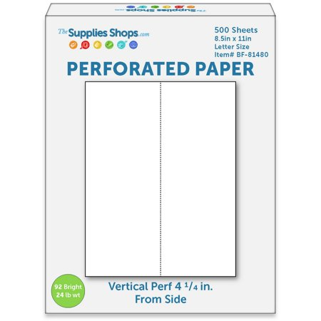 Perforated Paper, 4 1/4