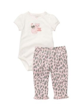 Carter's Baby Girls' 2-pc - Pink - 18 Months
