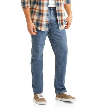 Cotton Thermal Jeans - Men's Basic Regular Fit Jeans
