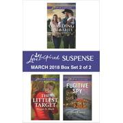 Harlequin Love Inspired Suspense March 2018 - Box Set 2 of 2 - eBook