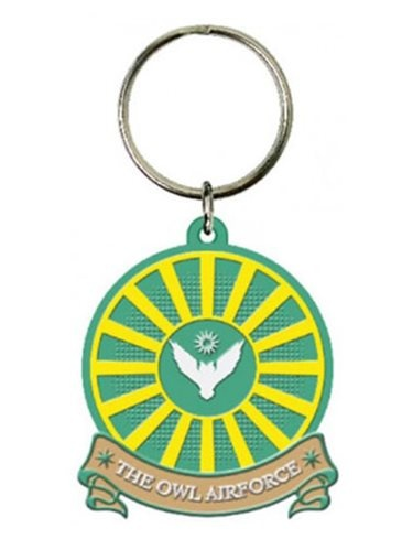 Harry Potter Fantastic Beasts Soft Touch Keyring Air Force