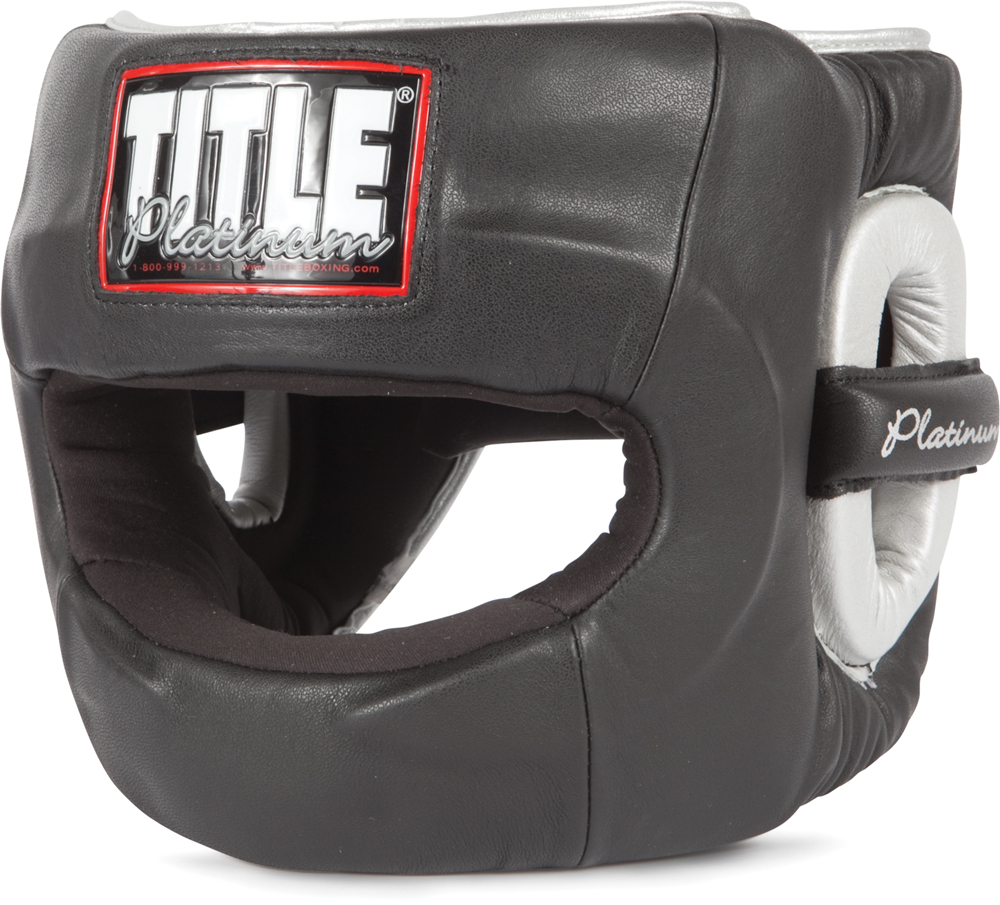Title Boxing Platinum Paramount Protector Headgear