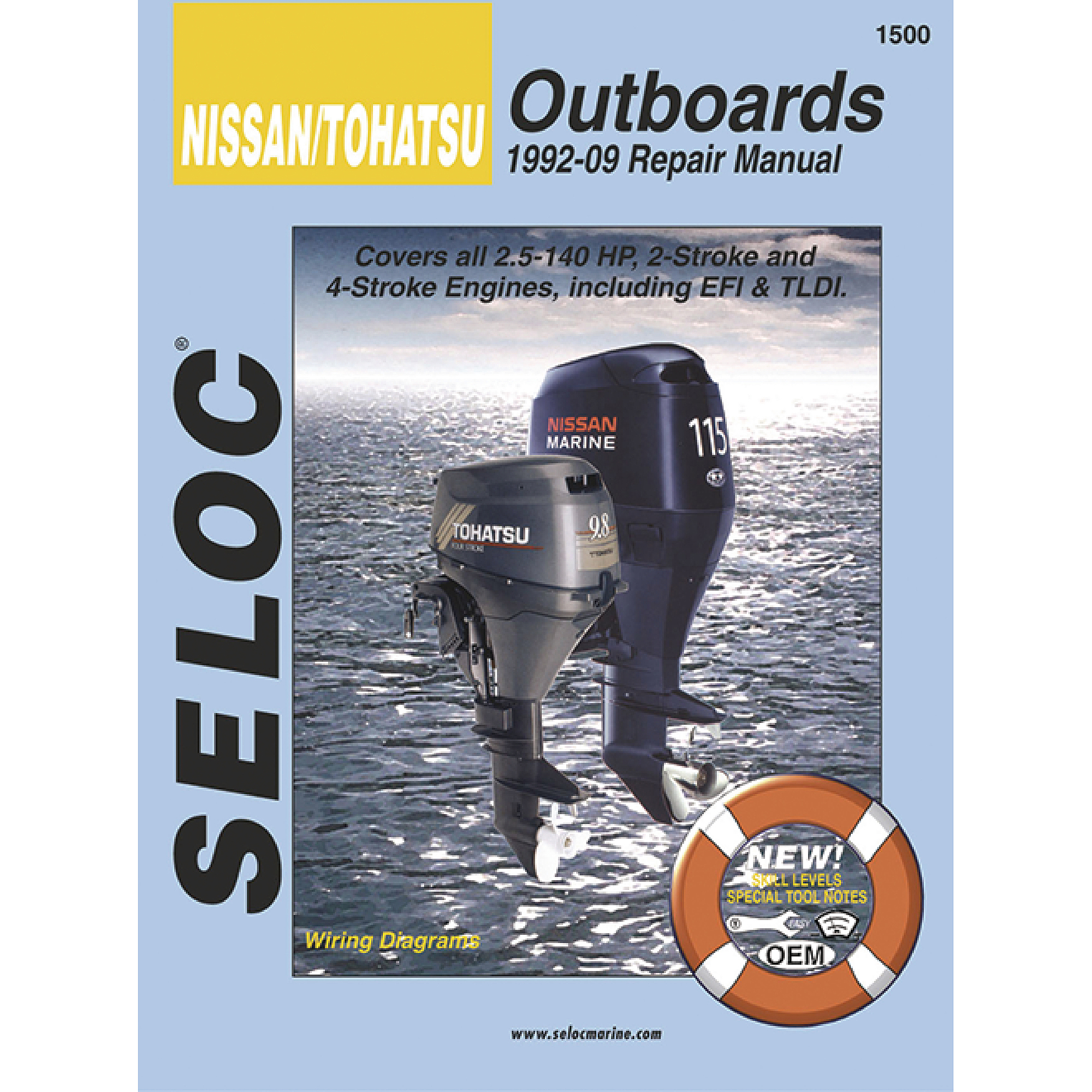Seloc Marine Manual for Nissan/Tohatsu Outboards 1992-2009