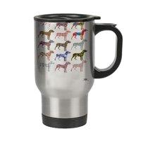 KuzmarK Insulated Stainless Steel Travel Mug 14 oz. - Great Dane Dog