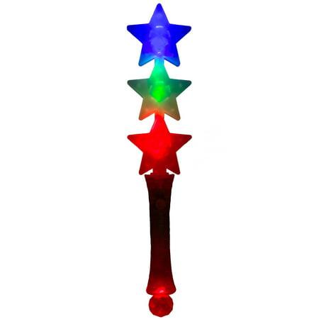 Veil Entertainment Patriotic Triple Star Light-Up 13.5