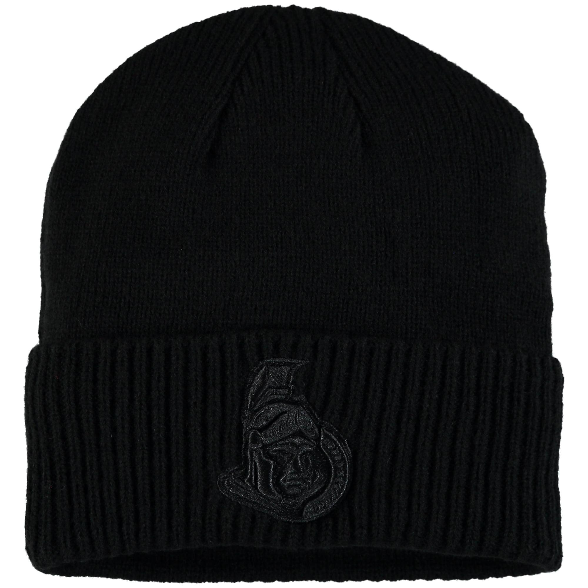 Ottawa Senators Fanatics Branded Team Haze Cuffed Knit Hat - Black - OSFA