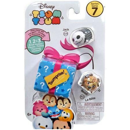 Disney Tsum Tsum Series 7 Jack & Beast Minifigure 3-Pack - The Incredibles Jack Jack Powers