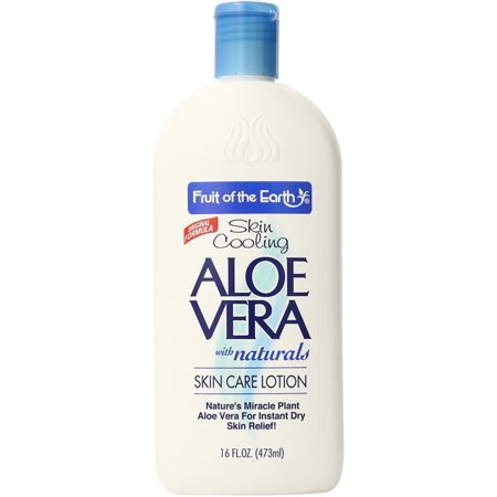 Fruit of the Earth Aloe Vera Lotion 16 oz - Does The Earth Spin