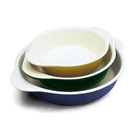 - World Cuisine A1736215 Medium .75 Qt Green Round Dish