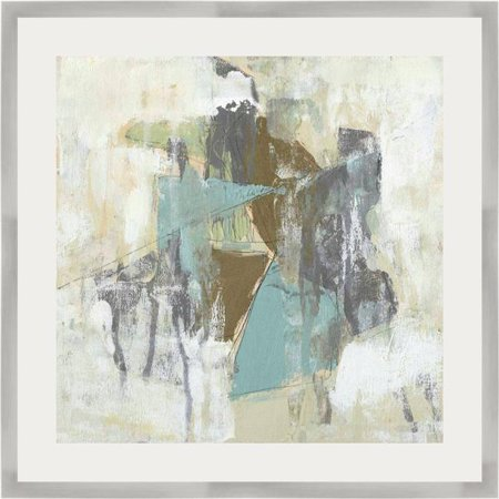 Somerset House Publishing 5729 Mod Occlusions I, Framed Fine Art Print with Glass - Silver Metallic