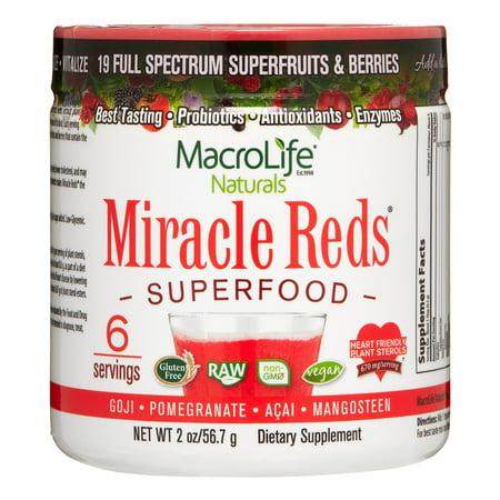 Miracle Reds Antioxidant (Macrolife naturals miracle reds, 2 oz )