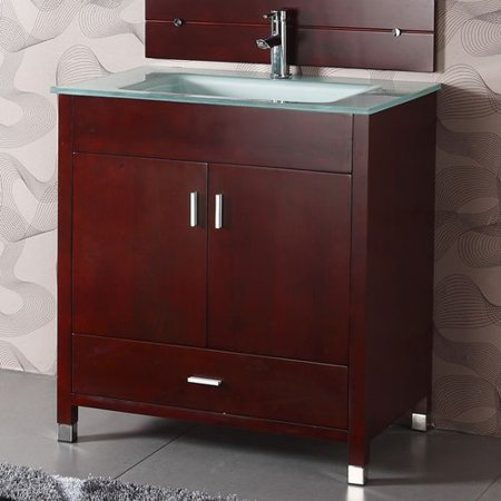 Legion Furniture WA3110 34-in Single Sink Chest Bathroom Vanity