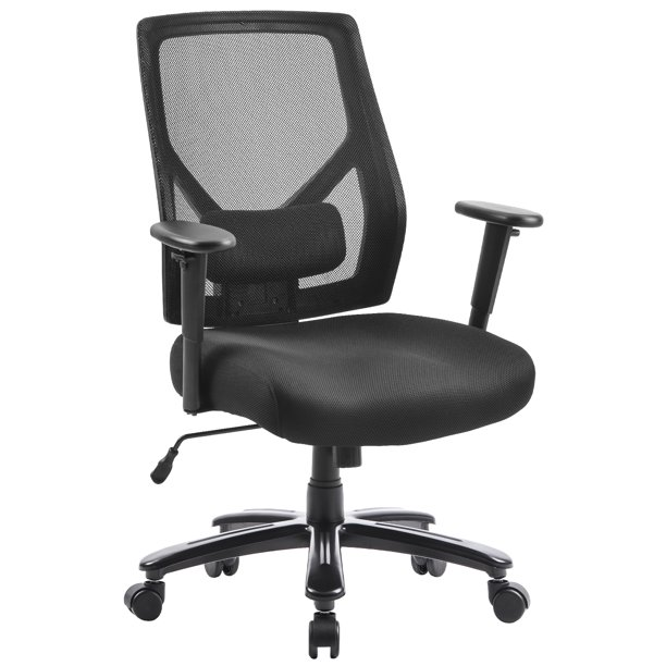 Office Chair Ergonomic Desk Chair High Back Mesh Computer Chair With Casters Lumbar Support Modern Executive Adjustable Rolling Swivel Chair For Office Home Seat Armrest Height Adjustable R1220 Walmart Com Walmart Com