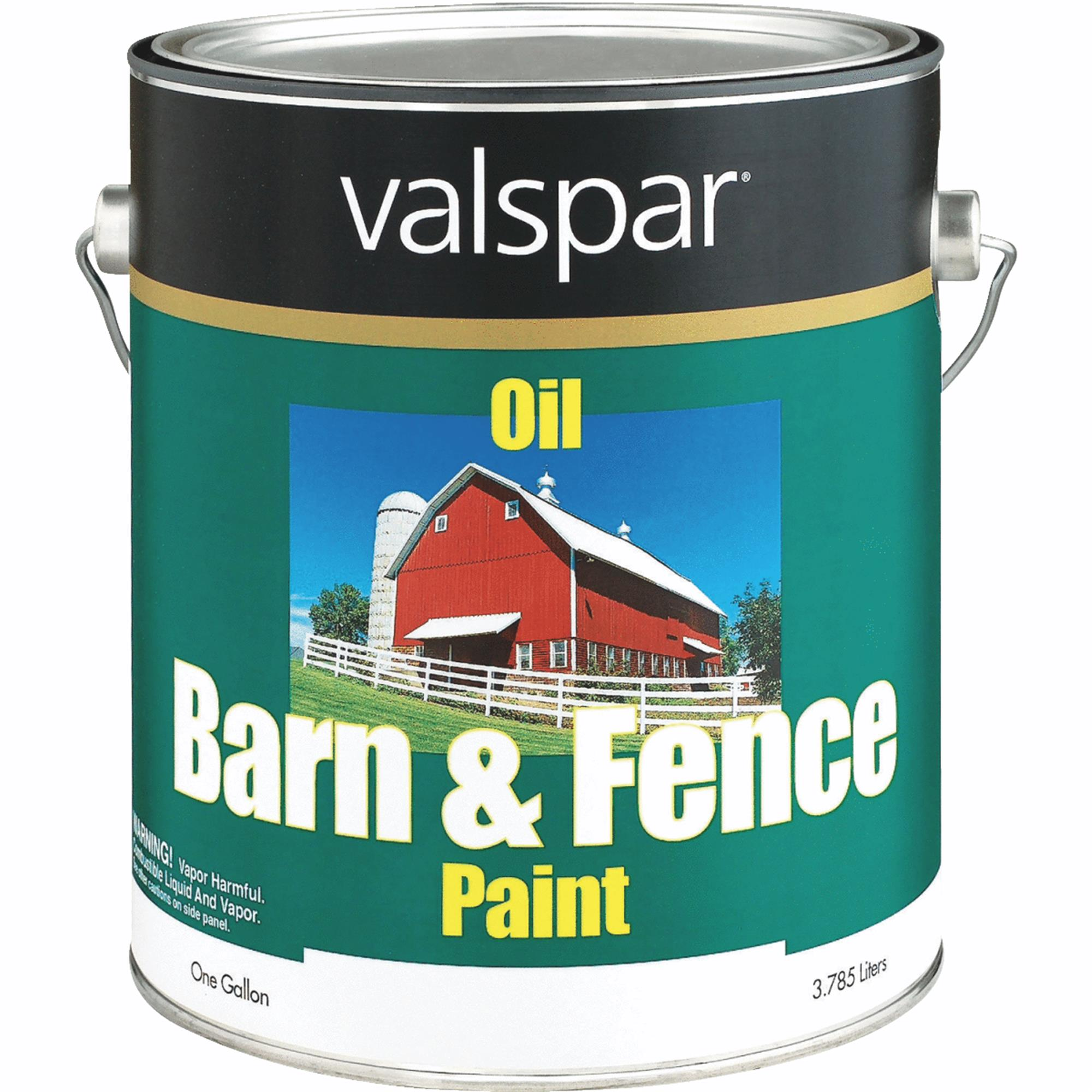 Valspar Oil Paint & Primer In One Low Sheen Barn & Fence Paint