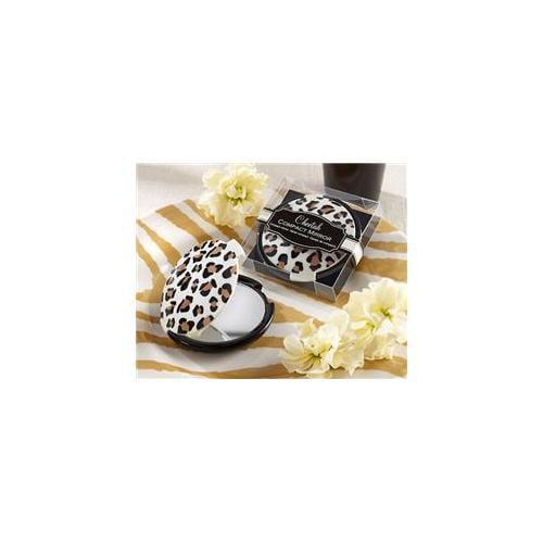 Kate Aspen 18048NA Cheetah Compact Mirror - Pack of 96