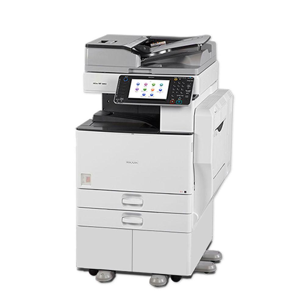 Refurbished Ricoh Aficio MP 3053 A3 Monochrome Laser Multifunction Copier -  30ppm, Copy, Print, Scan, Auto Duplex, Network, 600 x 600 dpi, 2 Trays,