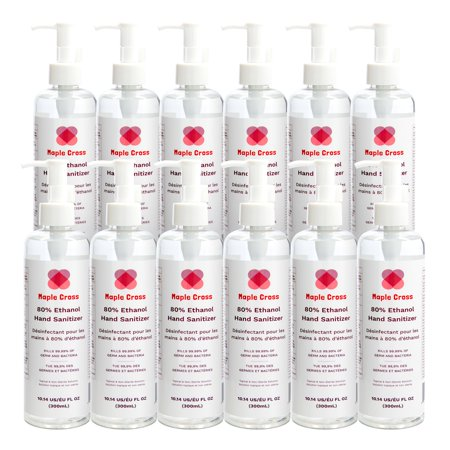 Maple Cross - Hand Sanitizer Liquid, 80% Ethanol, Food ...