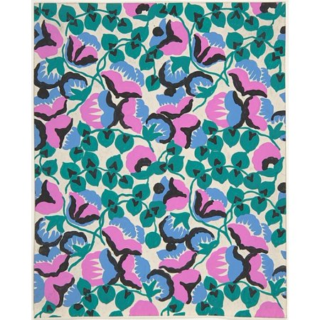 Fabric Design with Sweet Pea Flowers and Vines Poster Print by Attributed to Paul Poiret (French Paris 1879–1944 Paris) (18 x (Designs Sweet Pea)
