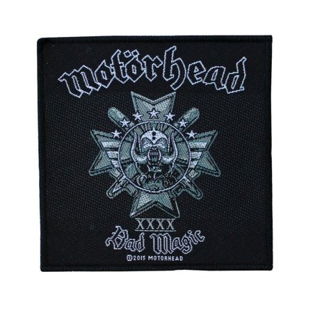 Motorhead Bad Magic Patch Album Cover Art Heavy Metal Band Woven Sew On Applique ()
