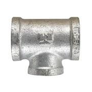 B & K 510-434BG Reducing Tee Malleable Galvanized Iron  0.75 x 0.5 x 0.75 in. - pack of 5