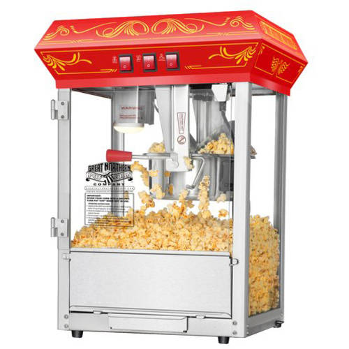 Great Northern Popcorn Good Time Popcorn Popper Machine, 8-Ounce