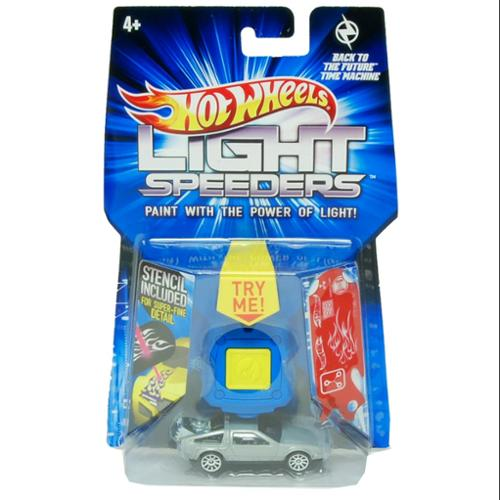 Hot Wheels Light Speeder Back To The Future Time Machine