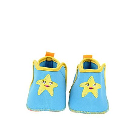 c63320f39e50 Skidders Infant Boys Girls Water Grip Swim Shoes for the Beach or Pool  (12-18 Months US