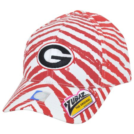 8f75c717e68 NCAA Georgia Bulldogs Dawgs Top of the World Smash Zubaz Zebra Snapback Hat  Cap
