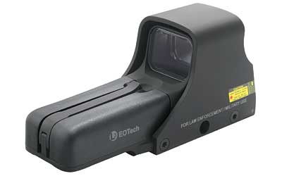 EOTech Tactical, Holographic, Night Vision Compatible Sight, 68MOA Ring with 1MOA Dot, Black Finish, Rear Buttons, inclu by Eotech