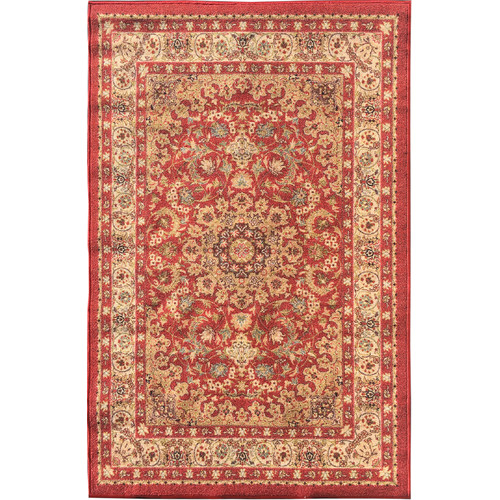 sweet home stores Sweet Home Medallion Red Area Rug