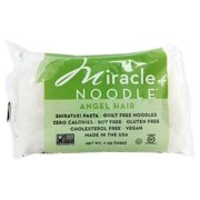 Miracle Noodle - Shirataki Pasta Angel Hair - 7 oz(pack of 1)