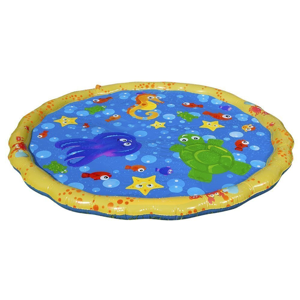 Banzai 54in-Diameter Sprinkle and Splash Play Mat