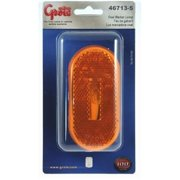 GROTE PERLUX 467135 Side Marker Light Universal Surface Mount 4 In. X 2 In. Yellow Lens