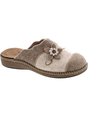 SC Home Collection Womens 18017 I Heart Teddy Cozy House Slippers Made in Europe
