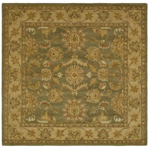 Safavieh Antiquity Rita Hand-Tufted Wool Area Rug, Green/Gold