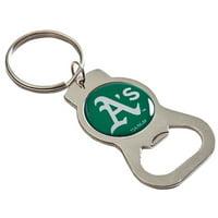 Oakland Athletics Basic Bottle Opener Keychain