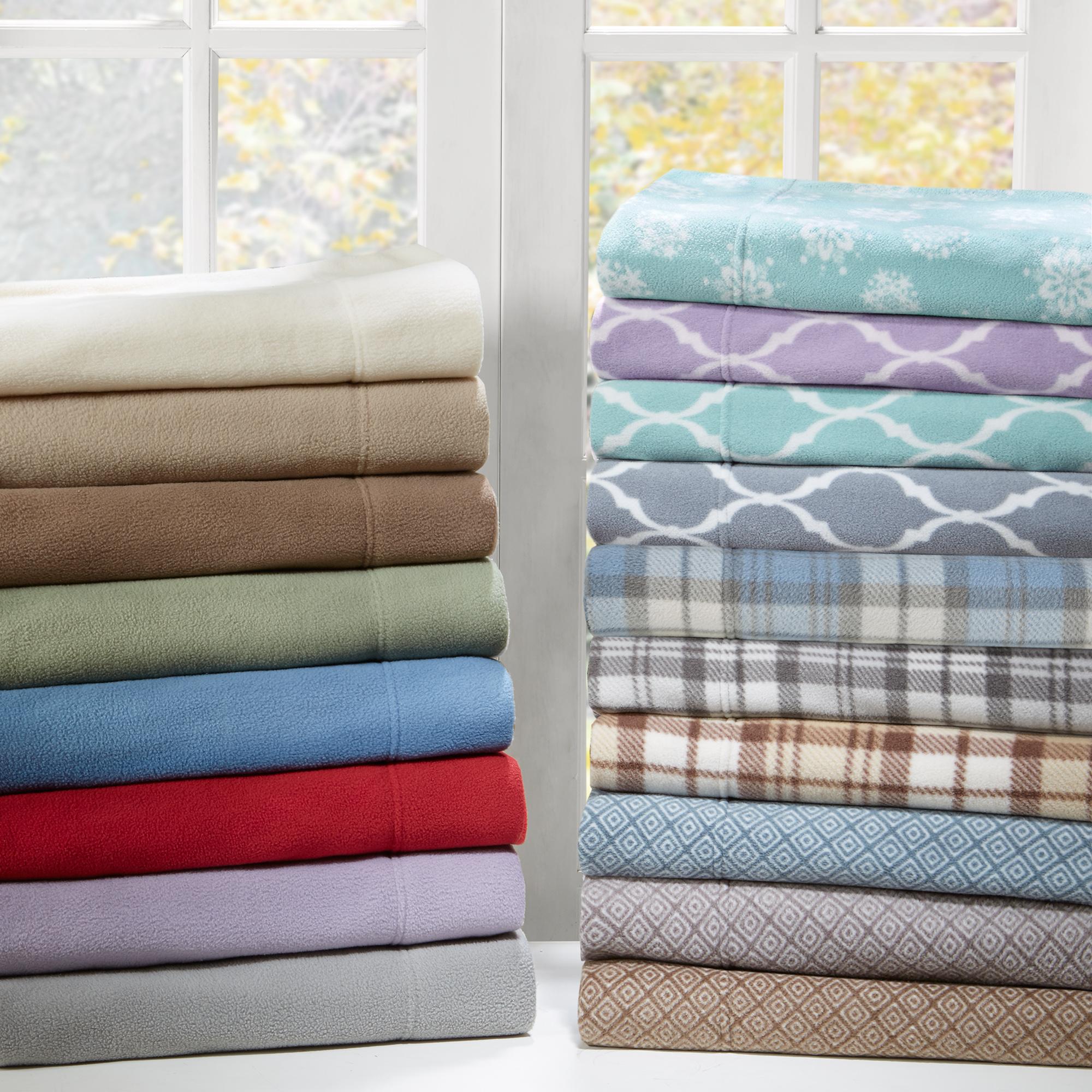 Comfort Classics Ultra Soft Micro Fleece Sheet Set