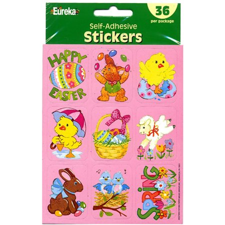 EASTER GIANT STICKERS - Giant Sticker Packs