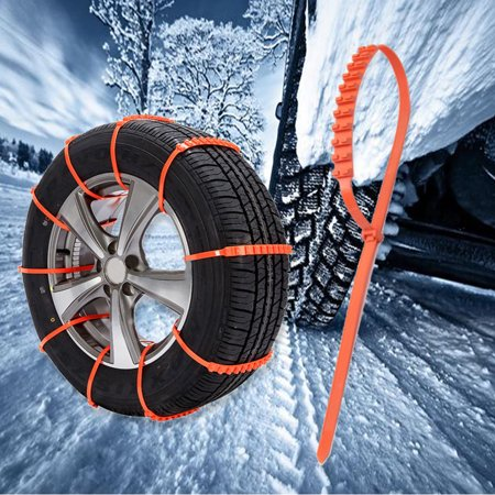 10PCS Car Truck Snow Ice Mud Chains Wheel Tyre Tire Anti-skid Thickened