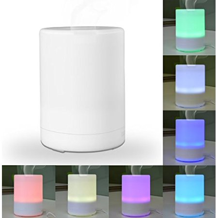 Light Diffuser Panels (Essential Oil Diffuser with 4 Timer Settings & 7 Color Light Options - BPA Free! - Perfect for Aromatherapy and Spa Therapy )