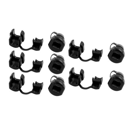 Uxcell 16mm Diameter 7P-2 Round Cable Wire Strain Relief Bush Grommet Black (10-pack) - image 2 of 2